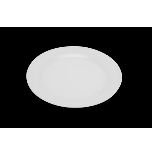 Extra White Round Side Plate Rim 19cm