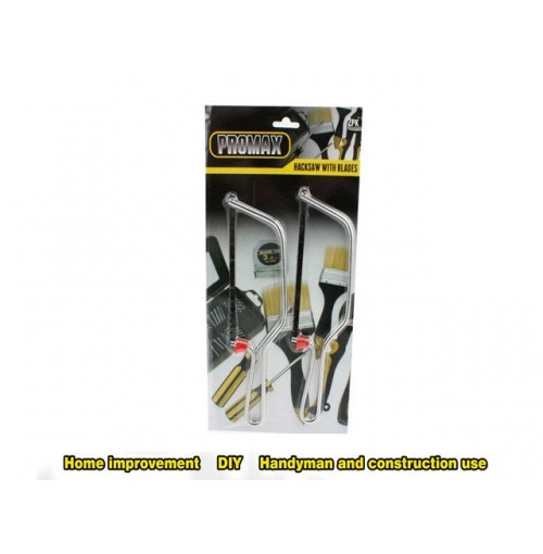 Hacksaw 2pk W Blades