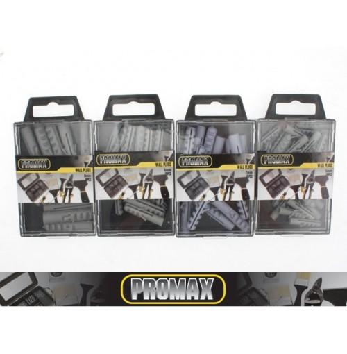 Wall Plugs Sizes 1 Size Per Box 5,6,7,8mm
