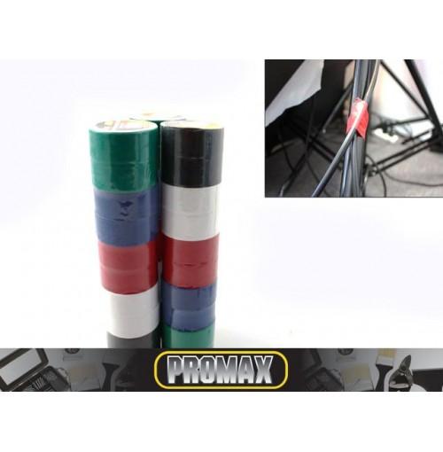 Tape Insulation 10 Pcs Assorted 18mmx2m