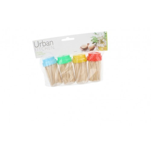 Tooth Picks 4x200 Pcs