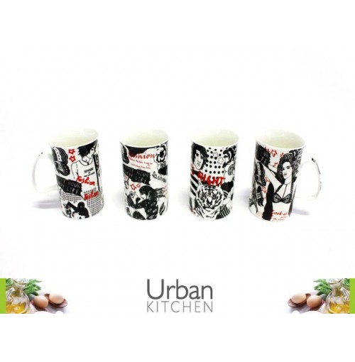 Mug Coffee Groovy Des
