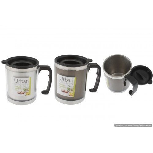 Insulated Stainless Steel Car Mug 8.5 X 11cm