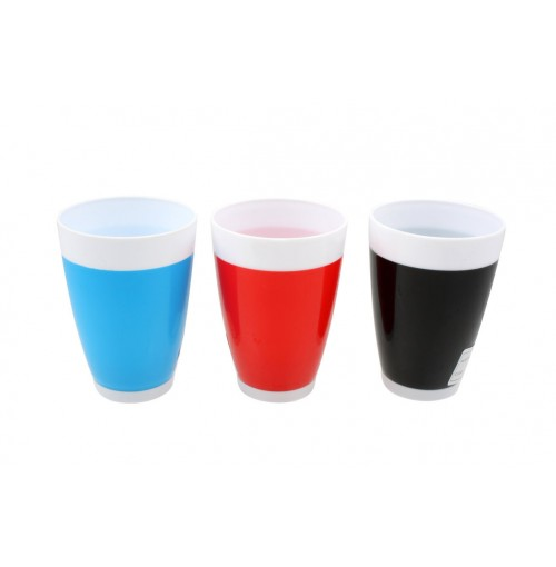Two Tone Short Tumbler 350ml Dia 8.5cm X H11.8cm