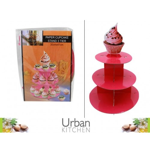 Paper Cupcake Stand 3 Tier