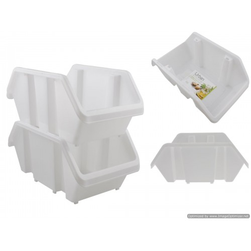 Stackable Storage Container Large 32x19x15cm