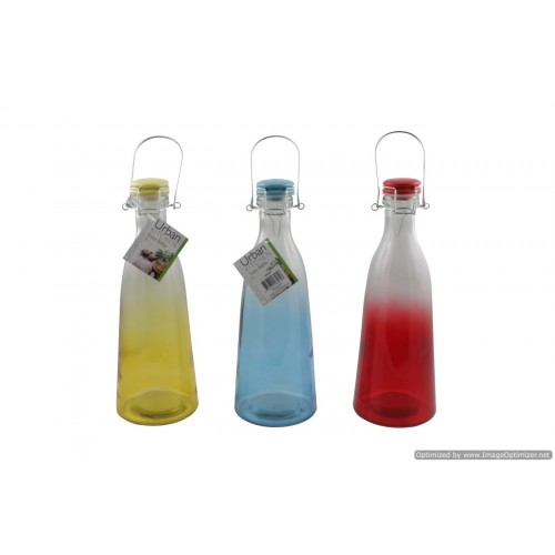 1l Glass Bottle Colour Blend