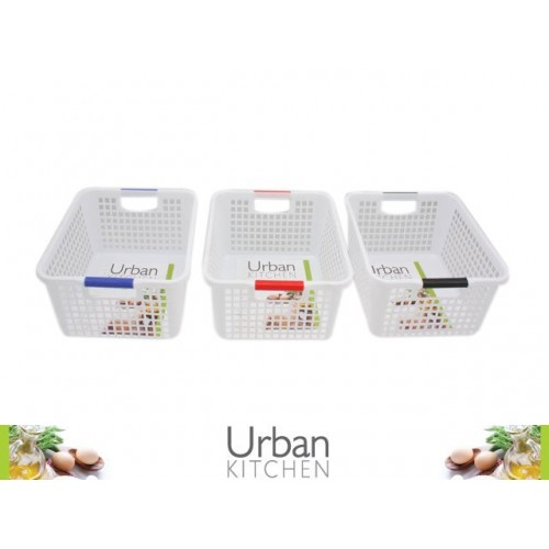 Plastic Mesh Storage Baskets c