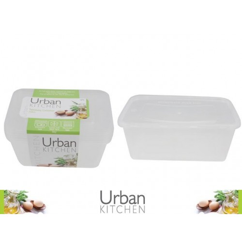 Take Awy Container 750ml 4pk 175 X 122 X 57mm