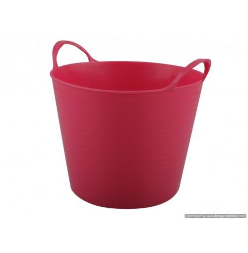 Mini Storage Basket W/Handles 10.4x10x10.5cm