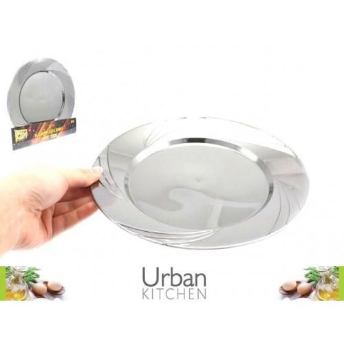 Platinum Plastic Plate 23cm 6pc Acetate Box