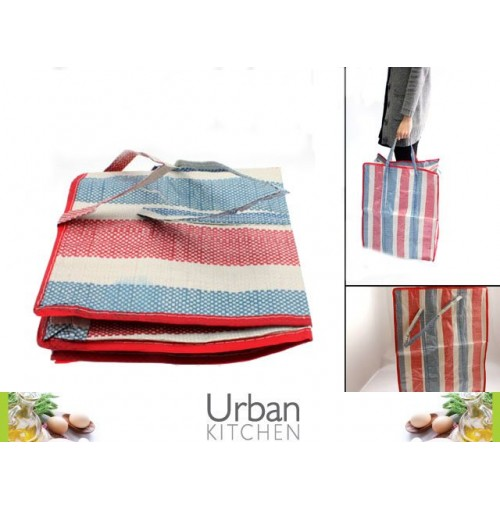 Bags Striped Med 48x52x25cm