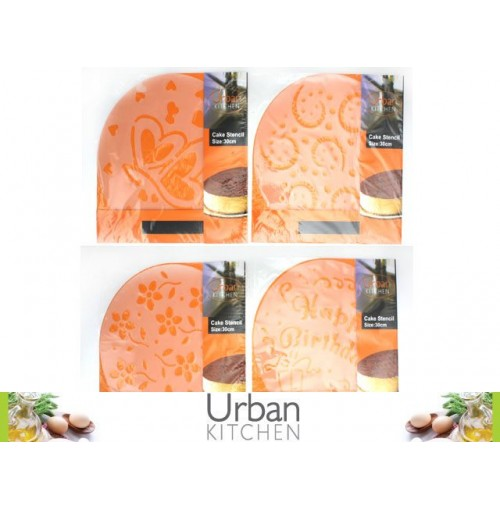 Cake Stencils Variety Pack 1pc 30cm