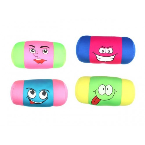 Travel Pillow Funny Face 42x18x18cm Squishy