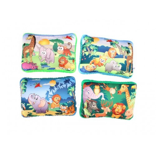 Travel Pillow Jungle Animal 30x20x12