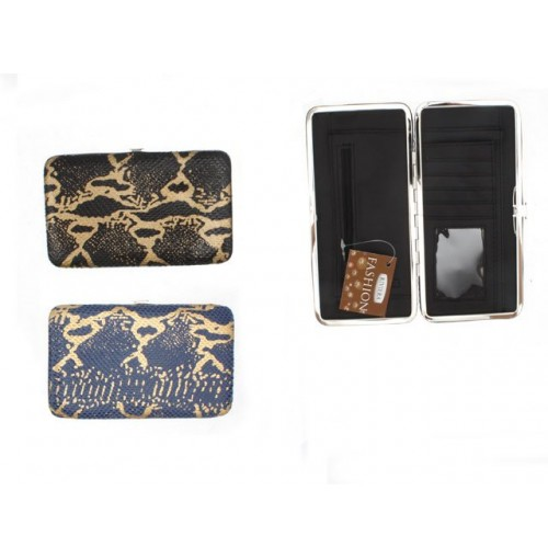 Animal Floral Clip Purse