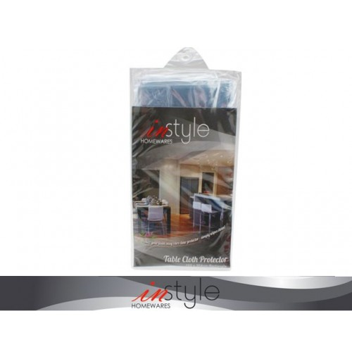Table Cloth Protector Clear 152 X 304cm Plastic