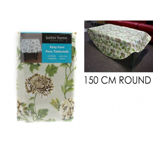 Table Cloth 100x100cm Flower Design