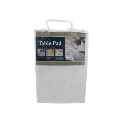 Deluxe Vinyl Table Pad 132x132cm