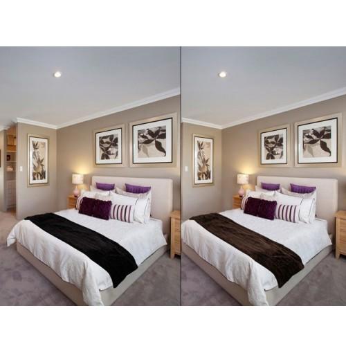 Bed End Throw Rug 40x170cm Queen