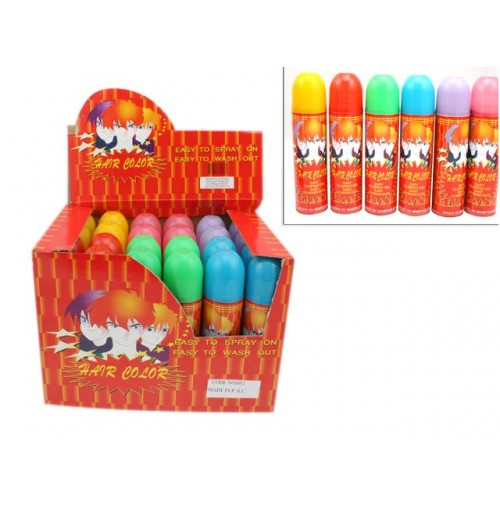 Coloured Hair Spray 80grm Easy Wash Out