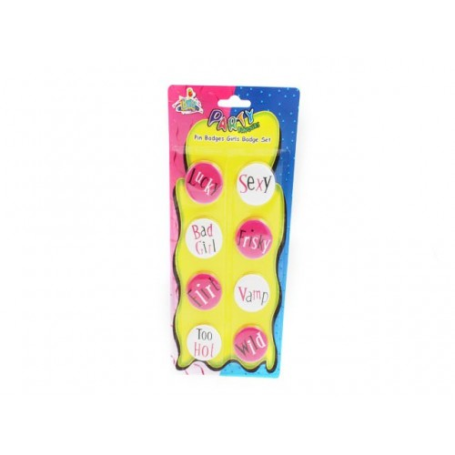 Pin Badges Girls Night Out S/8 18 +