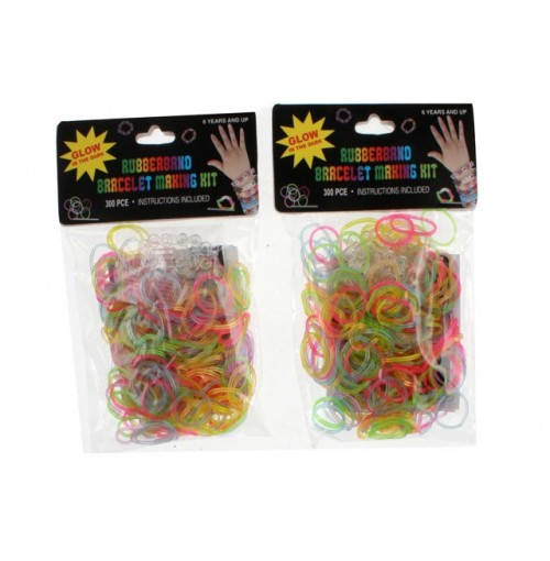 Rubber Loom Bracelet Gid 300 Pce Kit
