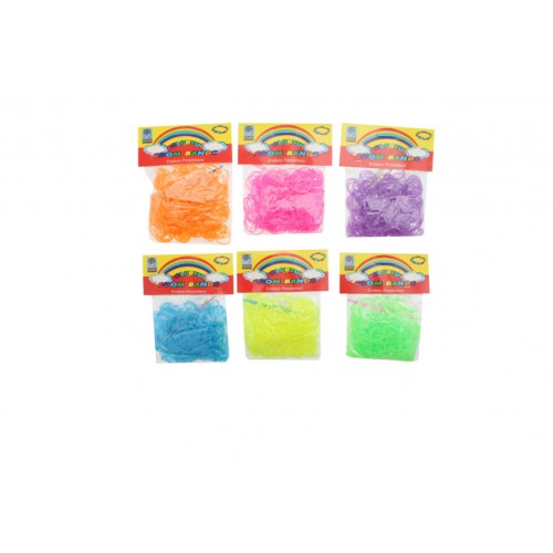 Loom Bands Glow In The Dark 300pcs
