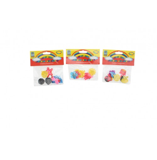 Loom Band Charm Accessories 8pce