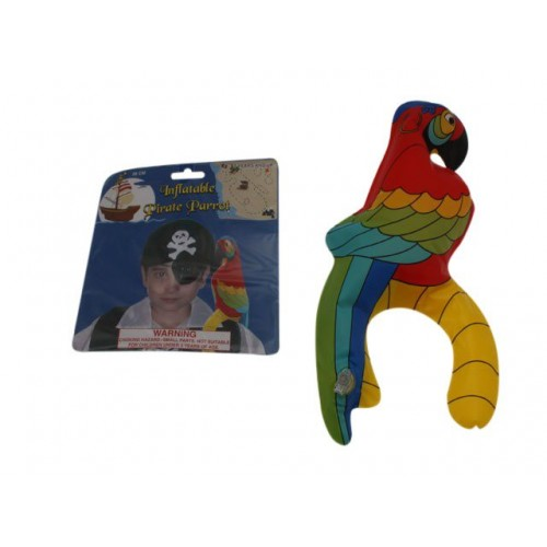 Pirate Inflatable Parrot 28cm