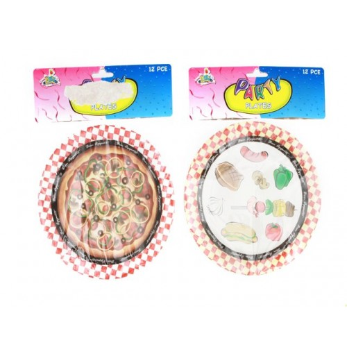 Bon Apetite Party Plate 18cm 12 pcs