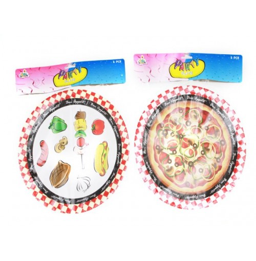 Bon Appetite Party Plate 26cm 6 pcs