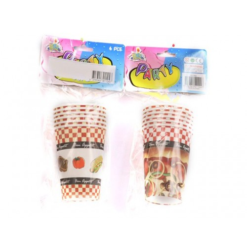 Bon Apetite Party Cups 6 pcs 250ml
