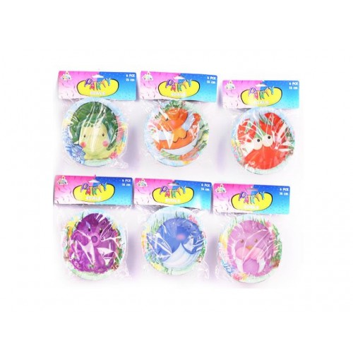 Sea Life Birthday Bowl 6pk