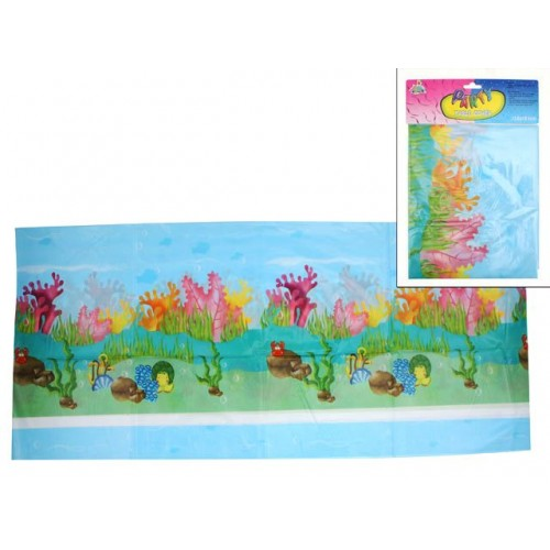 Sea Life Birthday Table Cover 138x183cm