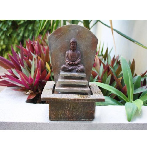 3 Tier Buddha Fountain
