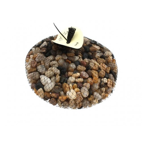 River Pebbles 1kg In Net Bag