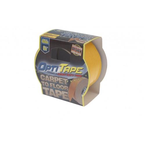 Opti Tape Carpet To Floor 48mm X 8m Sleeve Pack