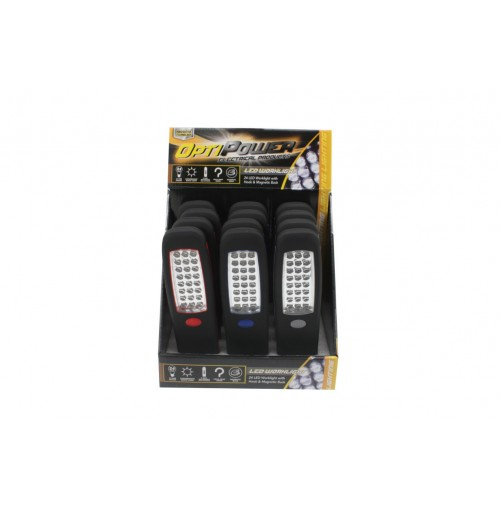 Opti Power Light 24 Led 21cm Bo With Magnet And Hook