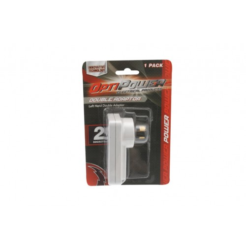 Opti Power Double Adapter Left Hand Side