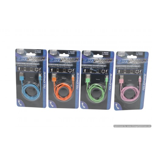 Iphone 5 Charging Cable 1mtr Multi Color