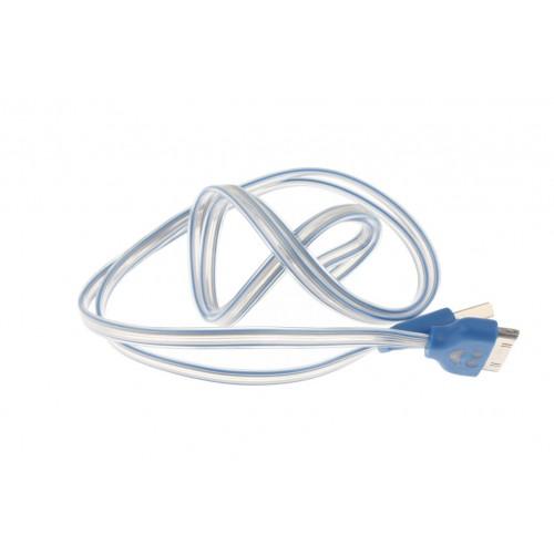 Led Iphone 4 Cable 95cm Flash Changes Colour
