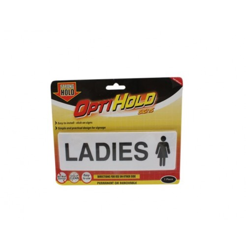 Opti Hold Household Sign Ladies