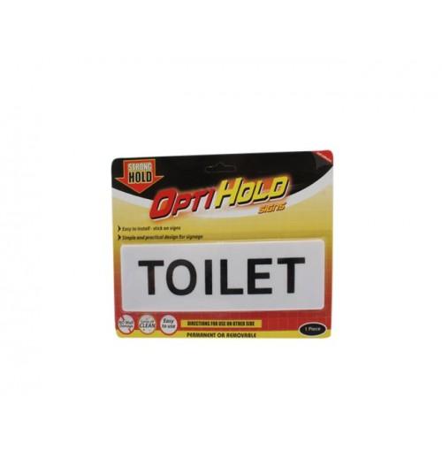 Opti Hold Household Sign Toilet