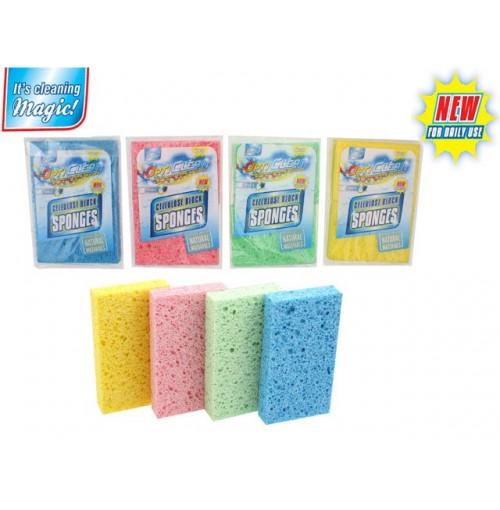 Opti Clean Cellulose Sponges 2 Pack