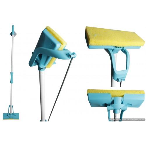 Opti Clean Sponge Mop Folding Head Action Refillable 25x9cm