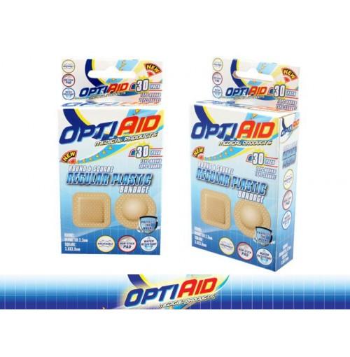 Opti Aid Bandage Plastic Round 30pk
