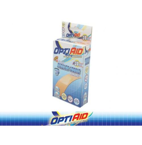 Opti Aid Bandage Fabric Regular 30pk 1.9 X 7.2cm