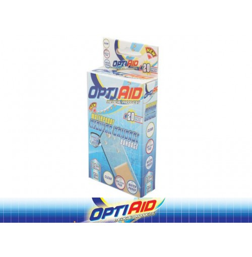 Opti Aid Bandage Waterproof Regular 20pk 1.9cm X 7cm