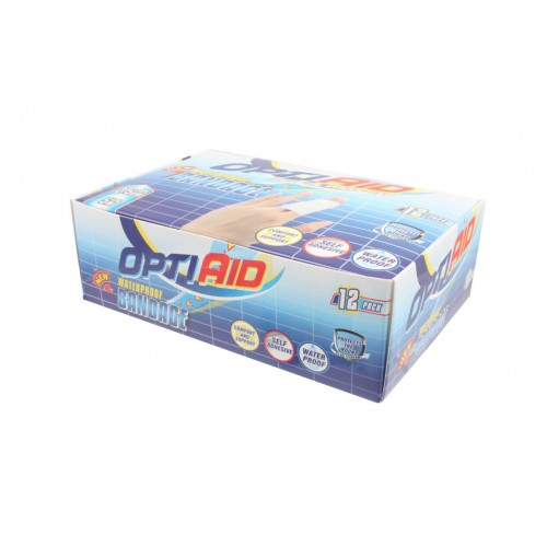 Opti Aid Waterproof Bandaid Tape 2.5cm X5m